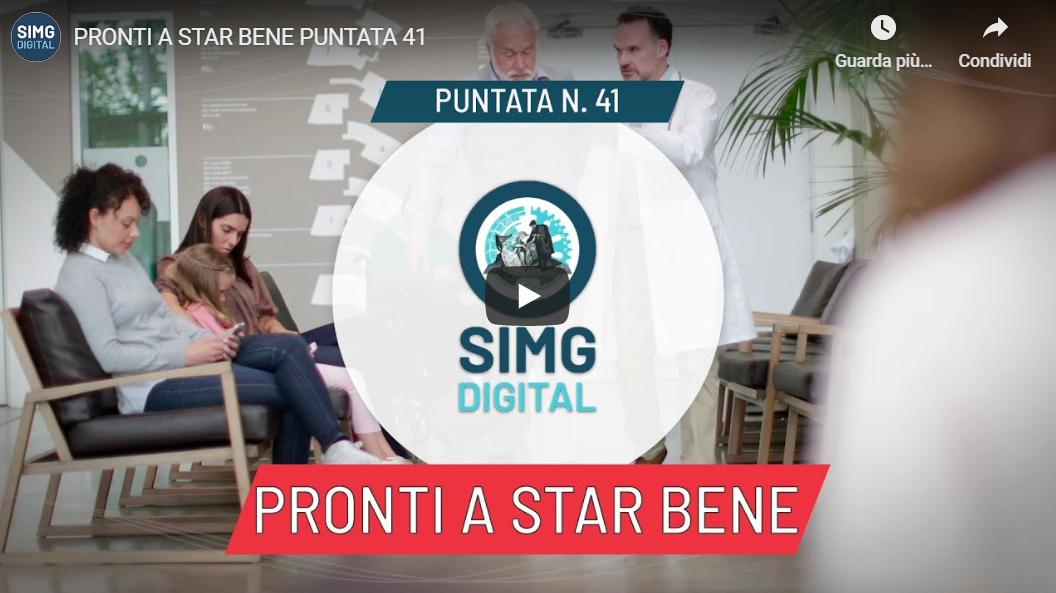 "SIMG TV ""Pronti a star bene"" - Puntata 41: Dott.ssa ..."